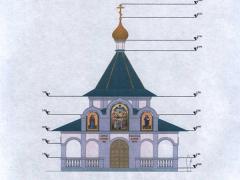 Строительство часовни в Дзержинске