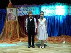 Участие воспитанников нашей воскресной школы в Международном конкурсе чтецов стихотворений православной поэзии